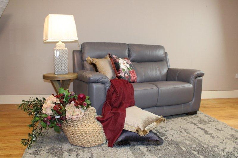 Donatello leather sofas