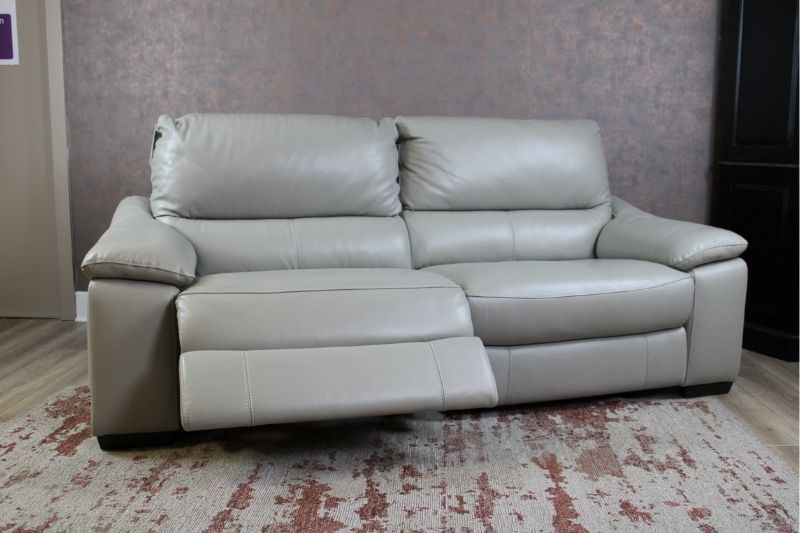 2 Seater Recliner Sofa Leather