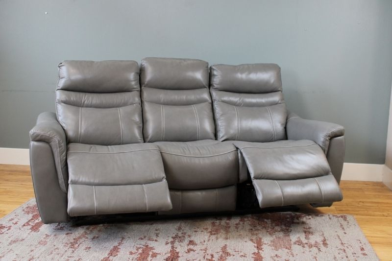 3 Seater Dual Recliner Chair Leather