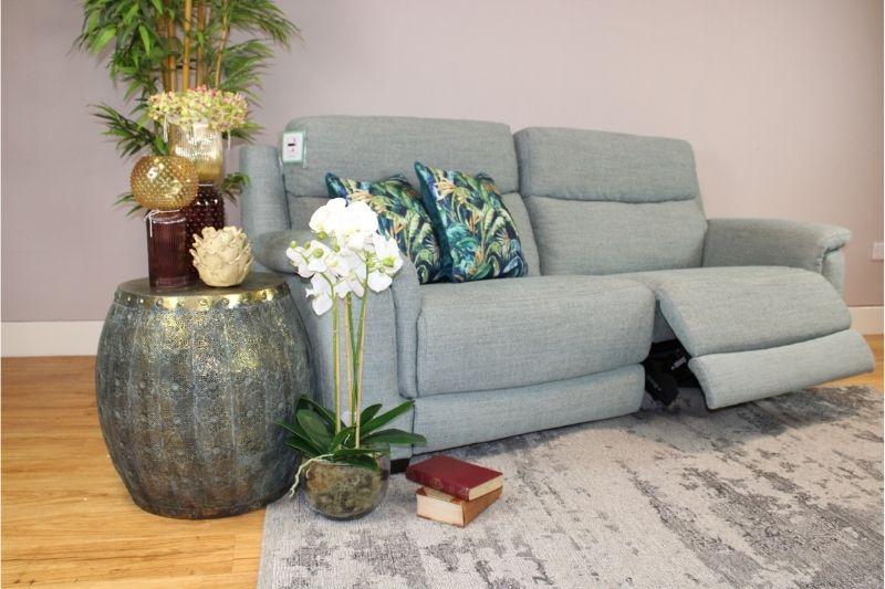 Fabric 2 Seater Recliner Sofa