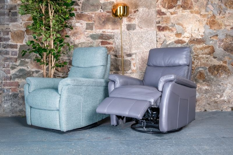Pair Of Single Recliner Chairs
