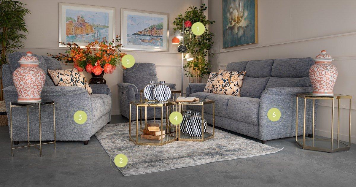 Michelangelo Living Room Inspiration