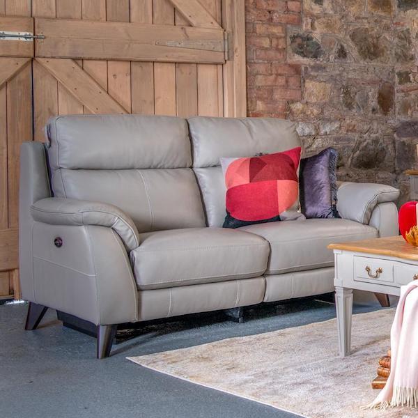 Raphael 2 Seater Leather Sofa