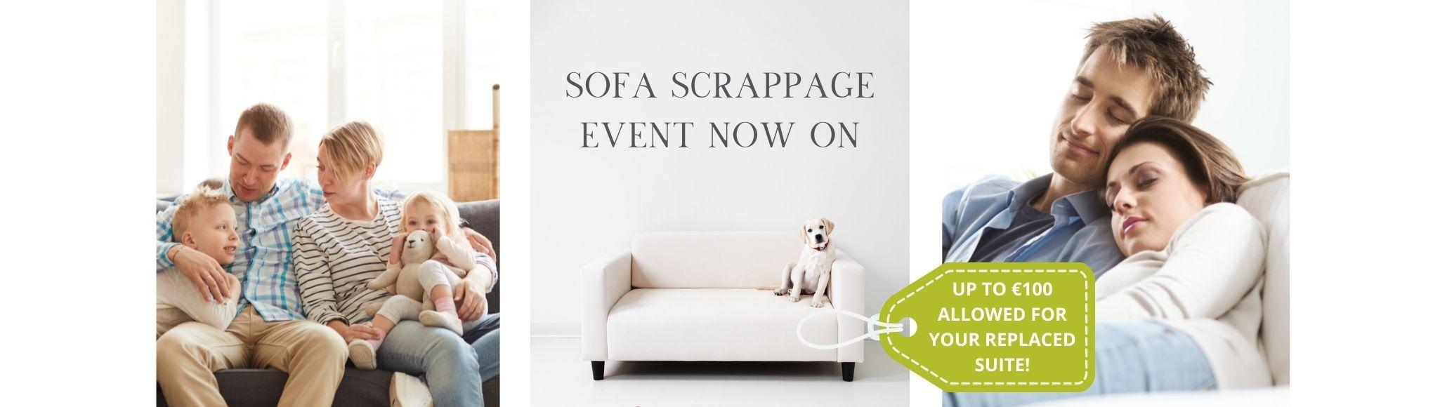 sofa scrappage event